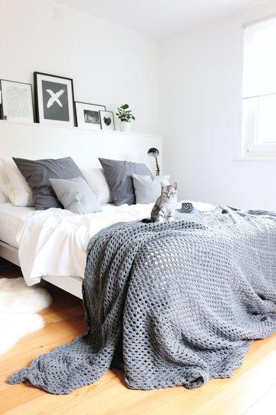 Sch n schlafen 10 dekotipps f r ein h bsches schlafzimmer - Bett dekorieren ...