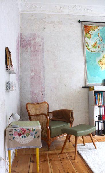 w nde mit patina 7 einzigartige wandgestaltungen mit geschichte. Black Bedroom Furniture Sets. Home Design Ideas