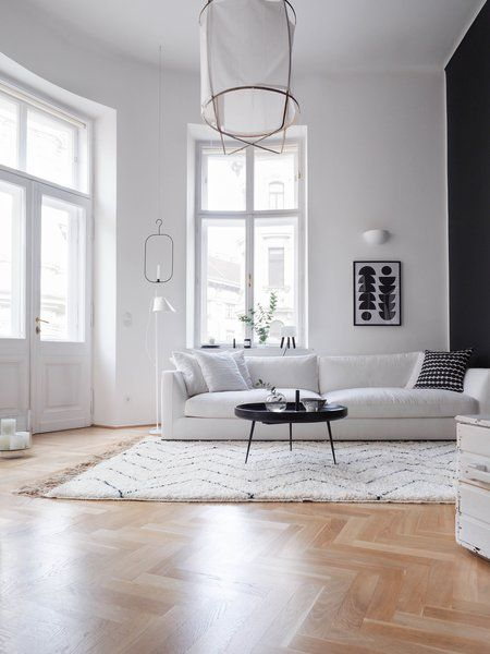 Deshalb Hab Ich Mich In Der Community Nach Wunderschönen Inspirationen Zu  Flauschigen Schwarz Weiß Teppichen Umgeschaut.