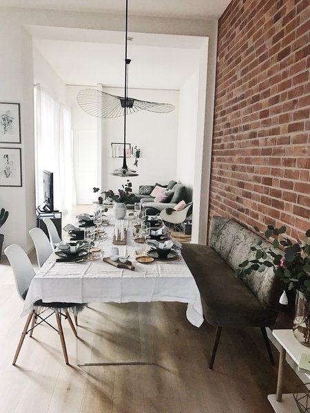 wie lebt es sich mit einer backsteinwand wir haben nachgefragt. Black Bedroom Furniture Sets. Home Design Ideas