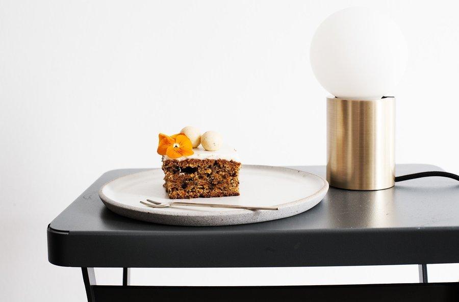 einstimmung auf den herbst saftiger m hrenkuchen mit ingwer und sauerrahm von houseno44. Black Bedroom Furniture Sets. Home Design Ideas