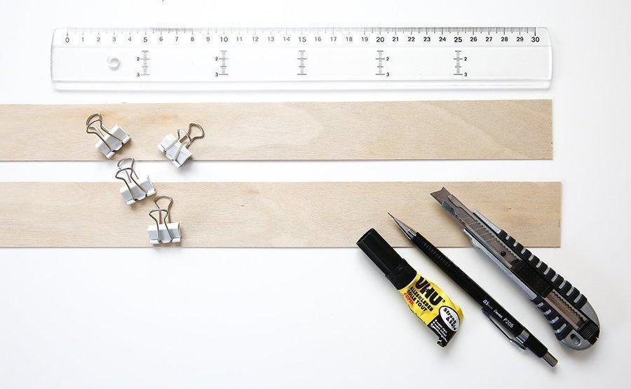 Ikea Kronleuchter Anleitung ~ Ikea hack papierleuchte mit holzfuß solebich