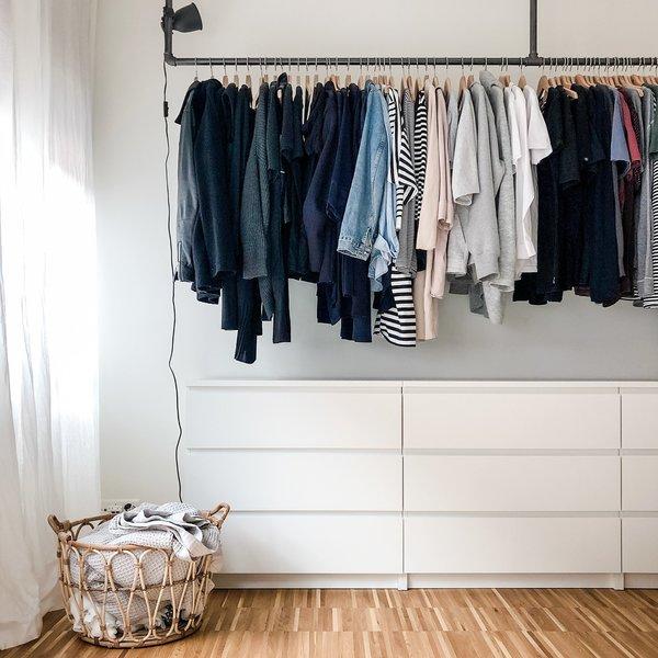 Extrem Ordnung im Kleiderschrank – hilfreiche Tipps und Ideen | SoLebIch.de KA39