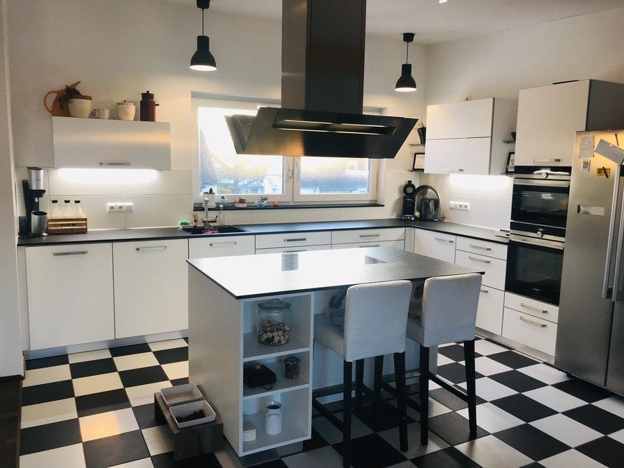 Küchenarbeitsplatte: Möglichkeiten, Materialien und ...