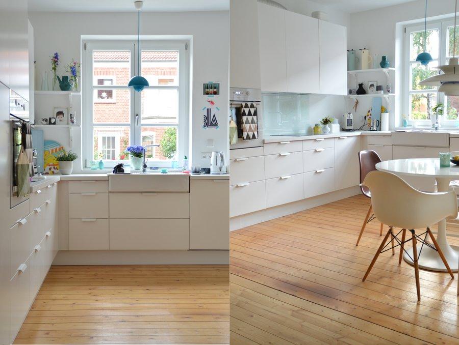 immobilien mieten - walther & sohn immobilien leipzig. küche mit ... - Holzdielen In Der Küche