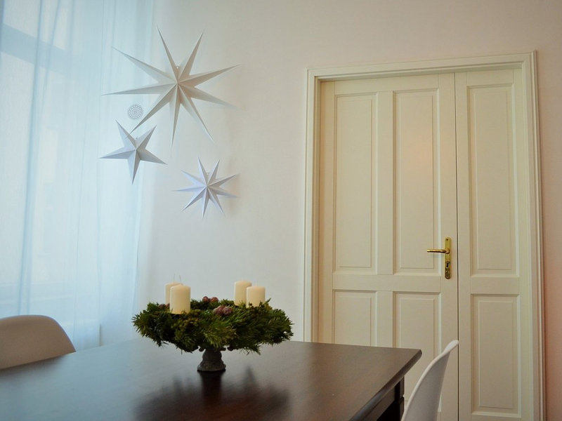 die sch nsten ideen f r weihnachtsdeko aus papier. Black Bedroom Furniture Sets. Home Design Ideas
