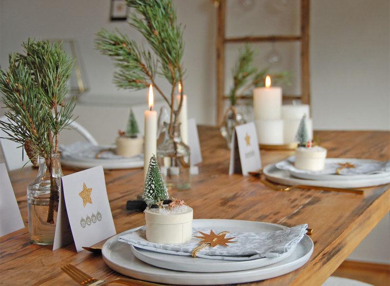 Zutaten Für Deine Tischdeko An Weihnachten