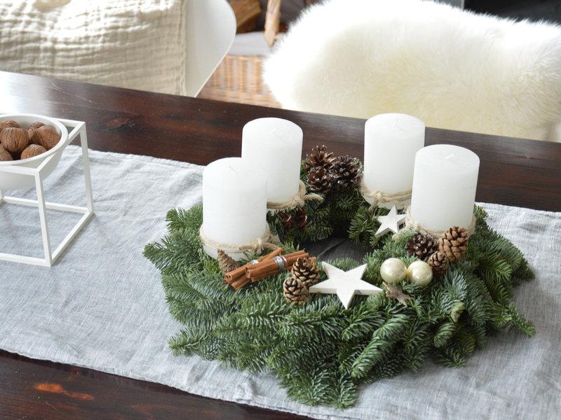 adventskranz ideen 2019 neujahrsblog 2020. Black Bedroom Furniture Sets. Home Design Ideas