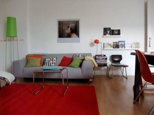 design : wohnzimmer orange rot ~ inspirierende bilder von ... - Wohnzimmer Orange Rot