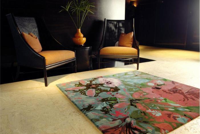 ausgefallene teppiche die spinnen doch. Black Bedroom Furniture Sets. Home Design Ideas