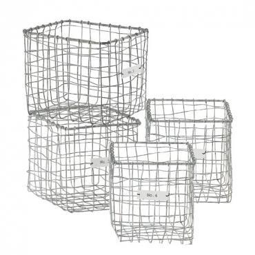 wohnen mit draht drahtk rbe drahtlampen und andere trendige accessoires aus draht. Black Bedroom Furniture Sets. Home Design Ideas