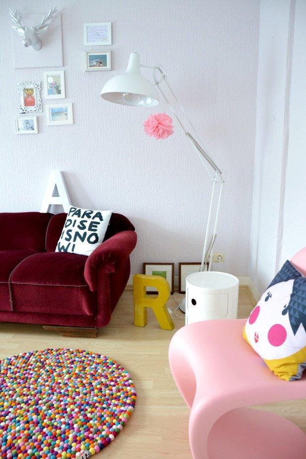wohnen mit filz kissen k rbe und weitere sch ne filz. Black Bedroom Furniture Sets. Home Design Ideas