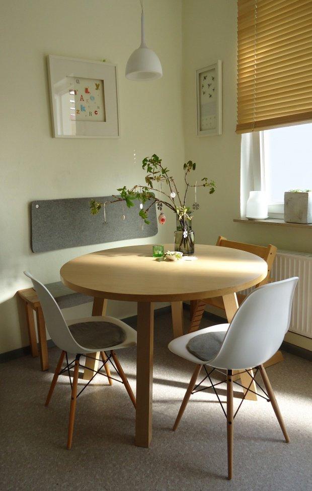 wohnen mit filz kissen k rbe und weitere sch ne filz deko. Black Bedroom Furniture Sets. Home Design Ideas