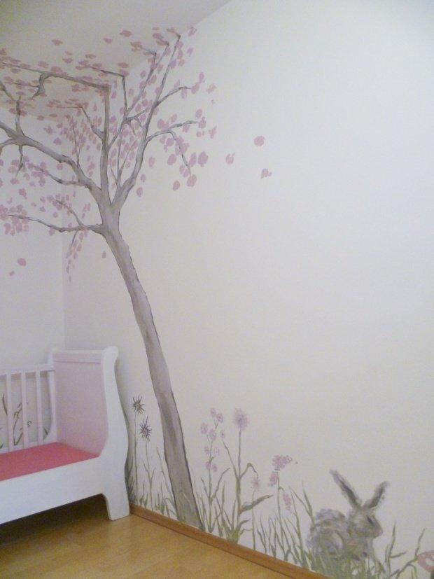 Baum und b umchen fabelhafte wandgestaltung nicht nur for Baum an die wand malen
