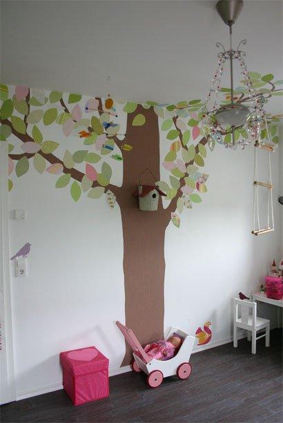 Kinderzimmer wandgestaltung baum selber malen  Baum Selber Malen. Edles Lebensbaum Acryl Gemlde Kaufen Kunstloft ...