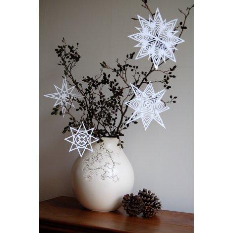 Weihnachtsdeko selber basteln: Wunderschöner Weihnachtsschmuck aus ...