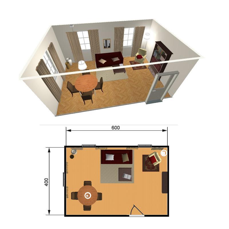 r ume 3d planen mit dem einrichtungsplaner. Black Bedroom Furniture Sets. Home Design Ideas