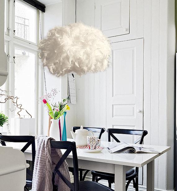 mieter der woche deko ideen aus federn. Black Bedroom Furniture Sets. Home Design Ideas
