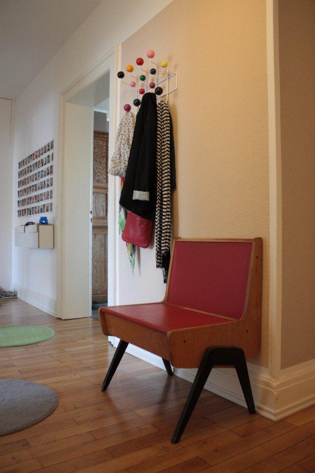 kleiner flur ein mini mit gro er wirkung. Black Bedroom Furniture Sets. Home Design Ideas