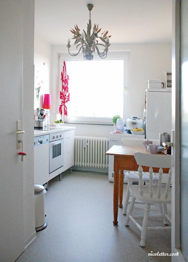 einrichtungstipps kleine küche ideen esstheke weiße arbeitsplatte