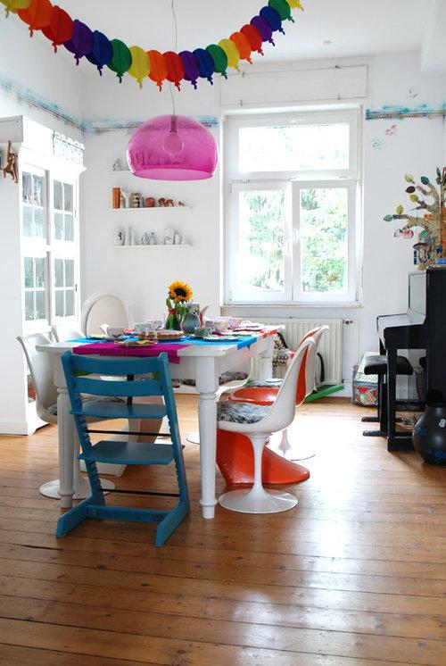 tischdeko ideen f r den kindergeburtstag. Black Bedroom Furniture Sets. Home Design Ideas