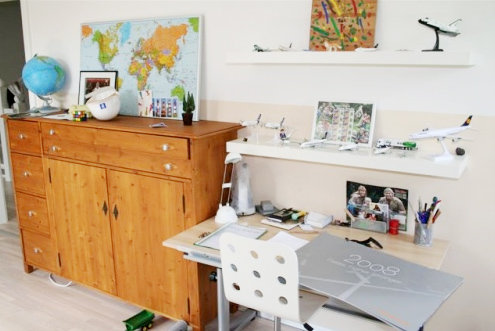 Ideen und tipps f r die einrichtung eines schulkind kinderzimmers - Drehstuhl kinderzimmer ...