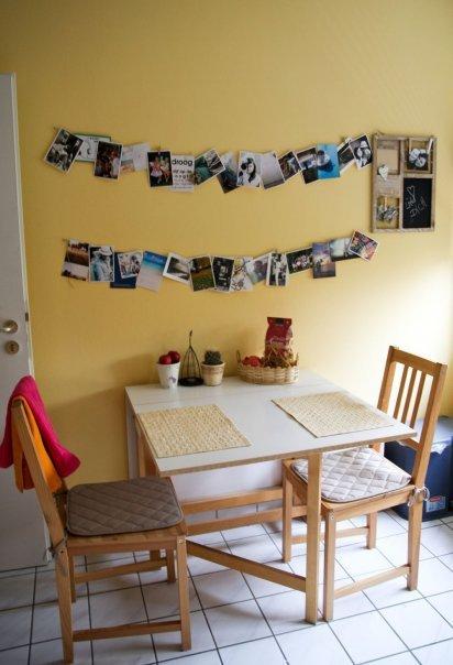 Wandgestaltung mit Fotos: Und auch bei StellaCadente hängen die ...