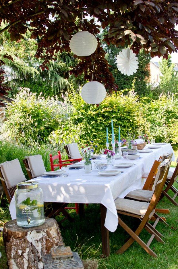 Feste feiern im Garten: Dekoideen für kleine und große ...