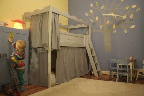 kinderzimmergestaltung hochbetten f r jung und lter. Black Bedroom Furniture Sets. Home Design Ideas