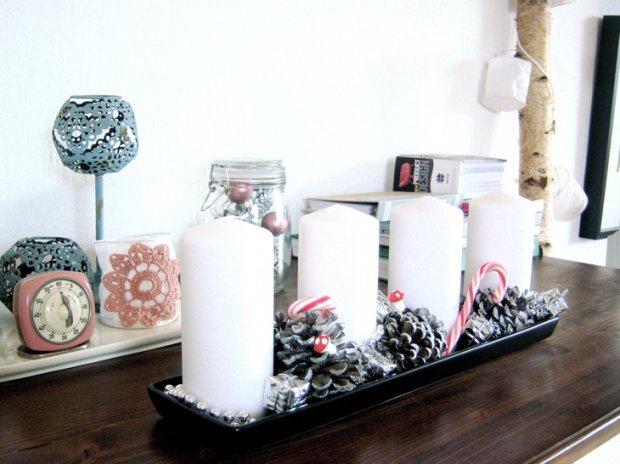 Selbstgemachte weihnachtsdeko ideen f r sch ne deko und - Adventsdeko ideen ...