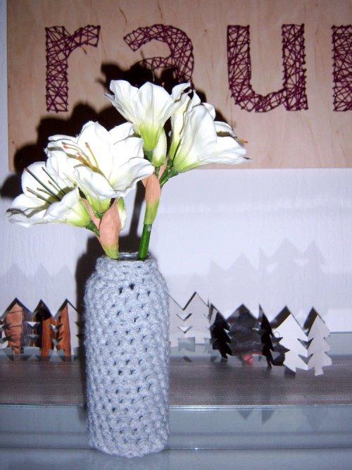 deko und diy ideen aus strick und garn. Black Bedroom Furniture Sets. Home Design Ideas