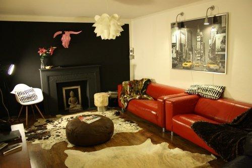 kuhfell imitat teppich das beste aus wohndesign und m bel inspiration. Black Bedroom Furniture Sets. Home Design Ideas