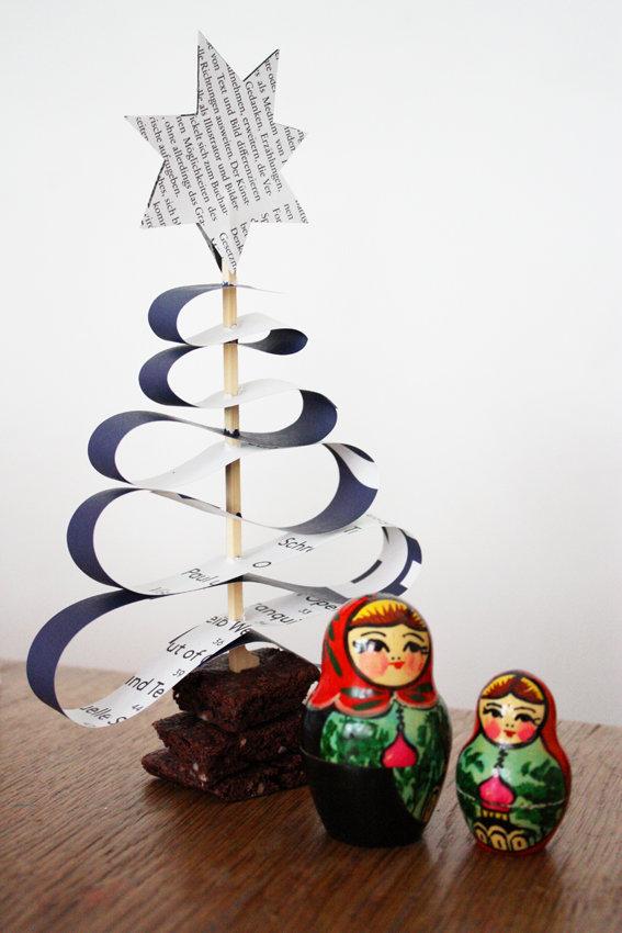 ohhh tannenbaum eine weihnachtsdeko und noch eine tischdeko idee. Black Bedroom Furniture Sets. Home Design Ideas