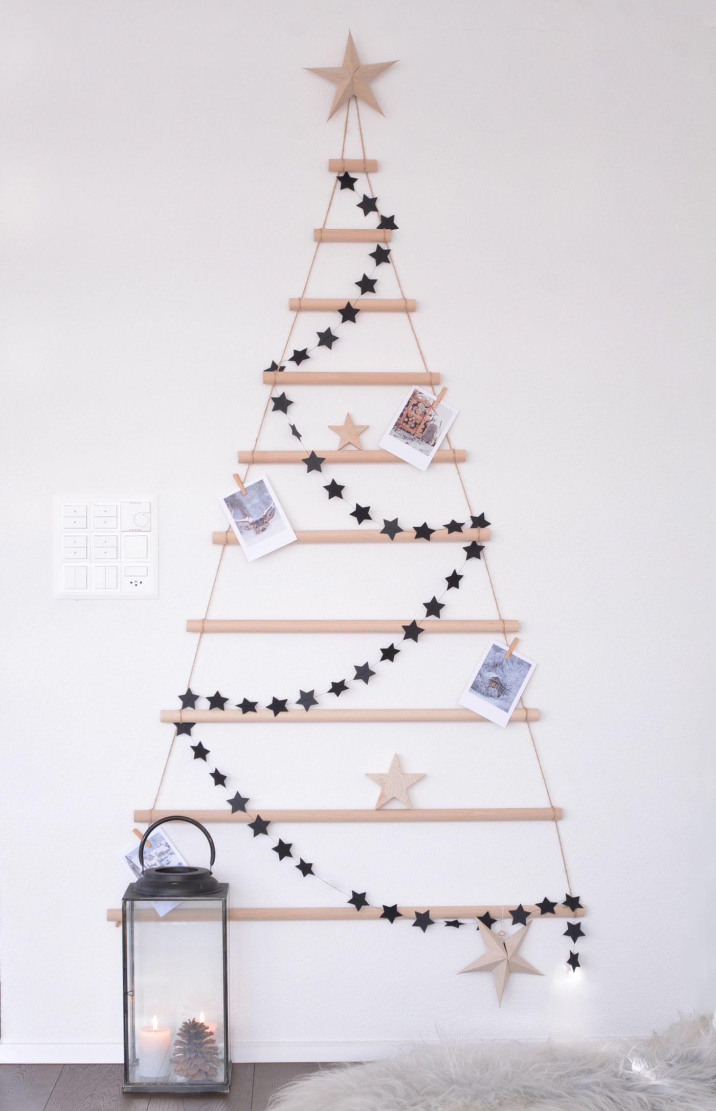 DIYnstag: 10 nadelfreie Christbaumideen für fröhliche Weihnachten ...