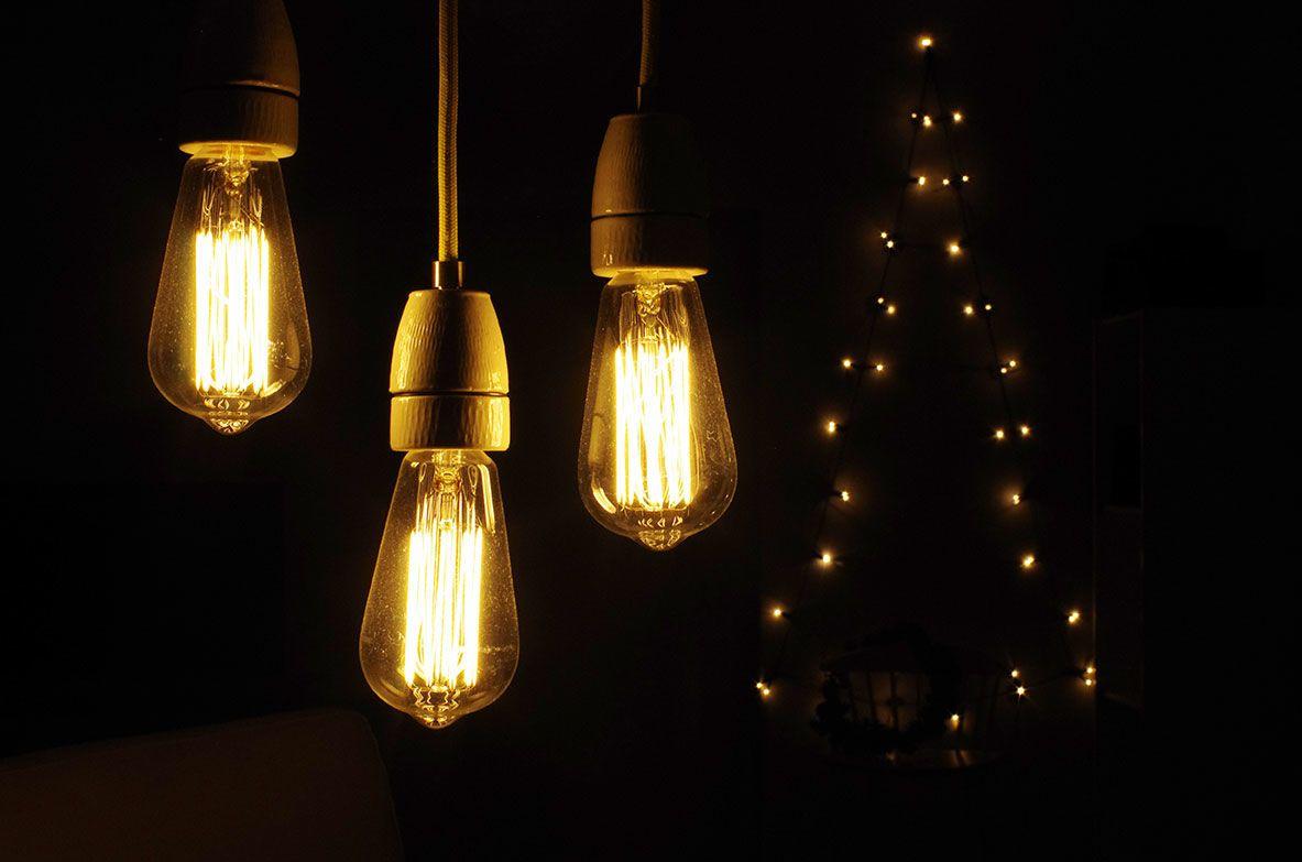 astlampe selber bauen schwarze lampe awesome diy projekt. Black Bedroom Furniture Sets. Home Design Ideas