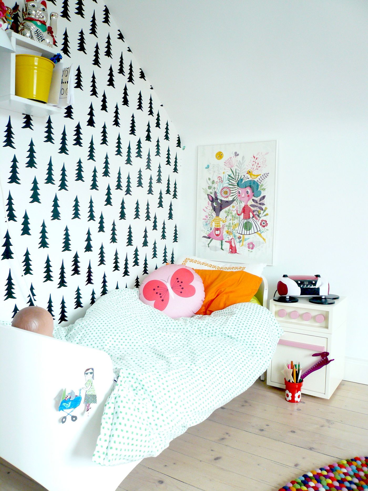 die besten ideen f r die wandgestaltung im kinderzimmer seite 3. Black Bedroom Furniture Sets. Home Design Ideas