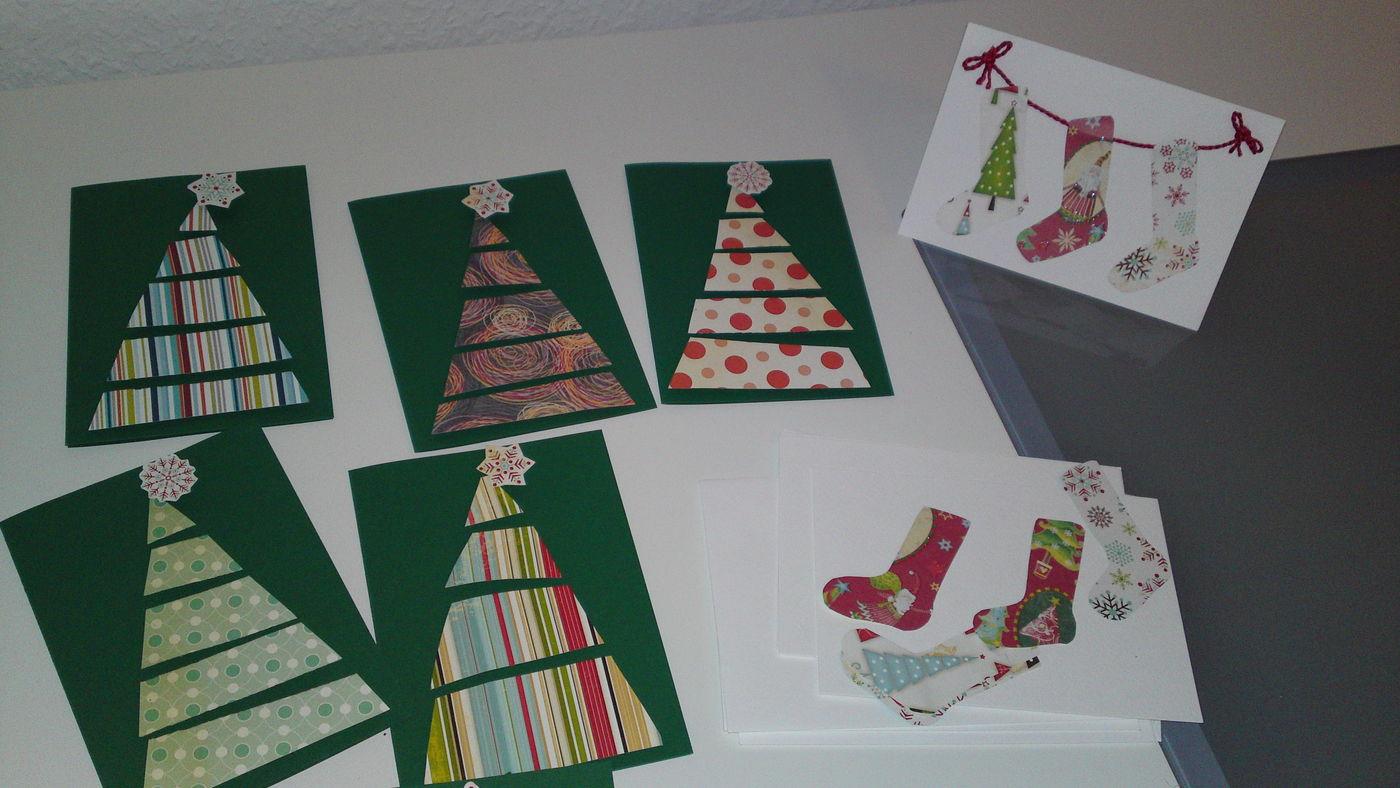 weihnachtskarten basteln ideen bilder. Black Bedroom Furniture Sets. Home Design Ideas