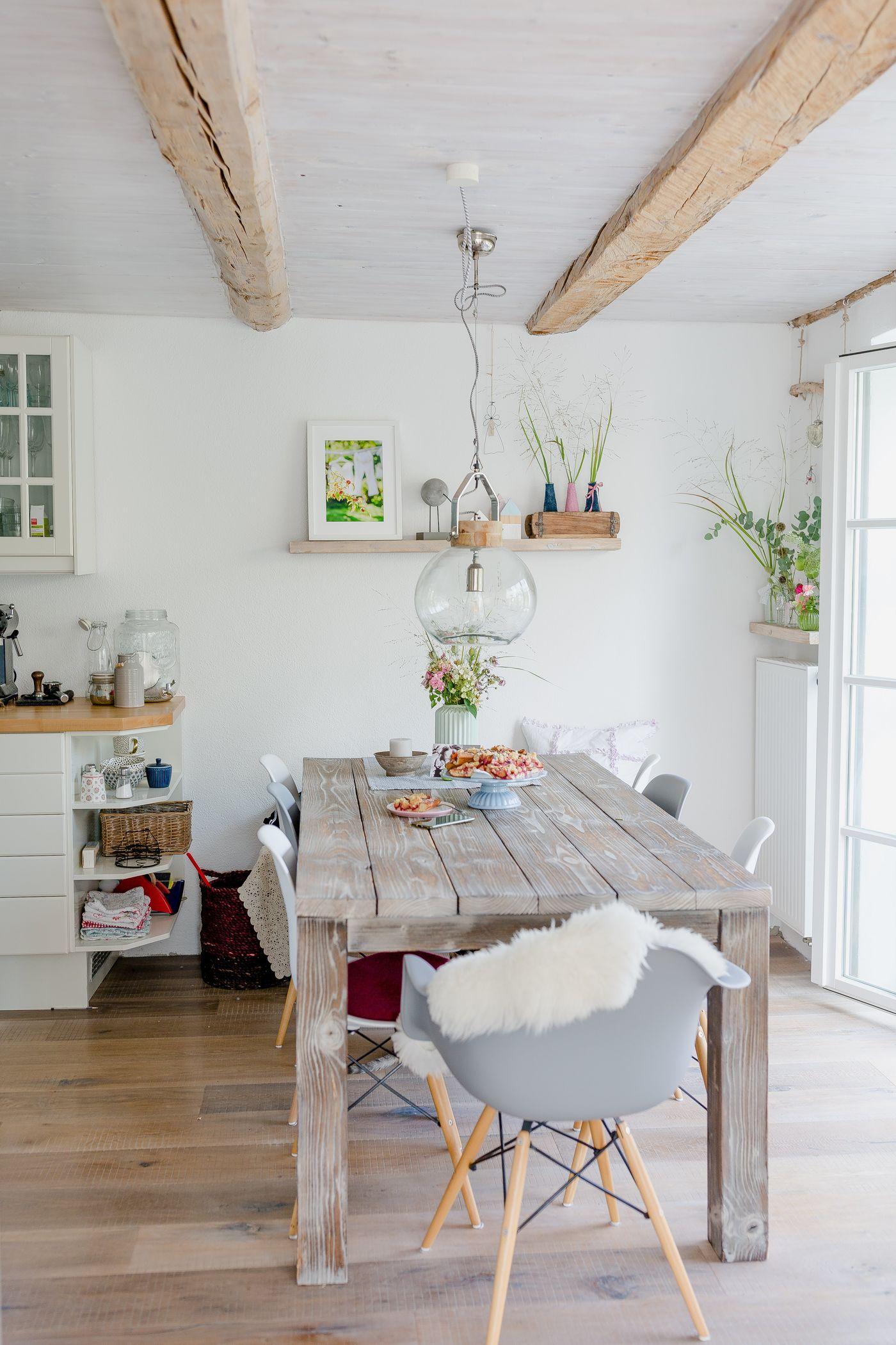 Das landhaus esszimmer for Einrichtungsideen esszimmer
