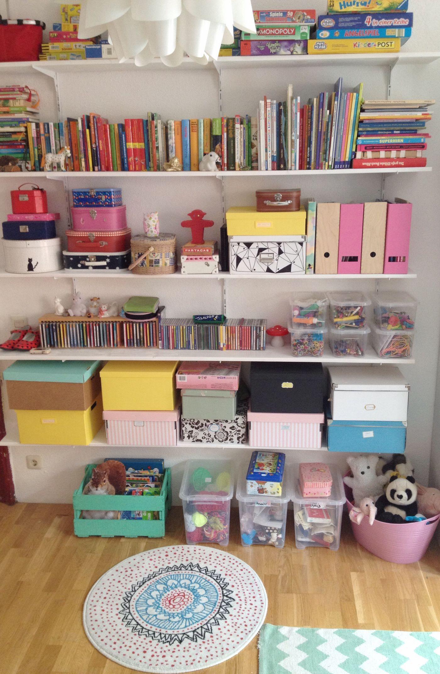 Kinderzimmer Aufbewahrung Ideen | Ideen Fur Stauraum Und Aufbewahrung Im Kinderzimmer Seite 2