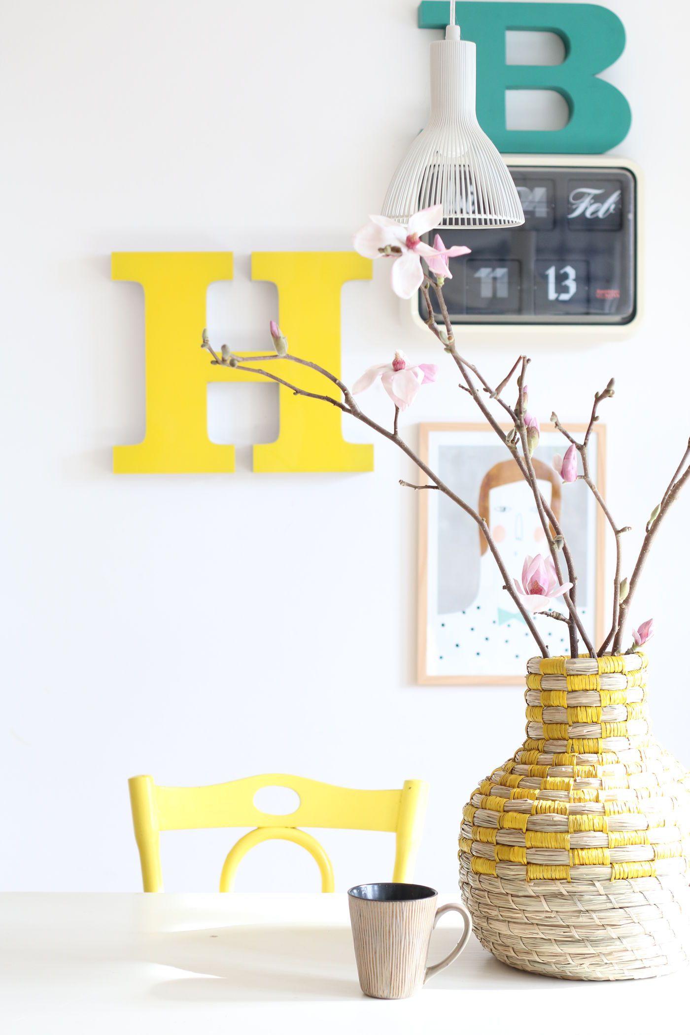 Die schönsten Ideen mit Deko-Buchstaben