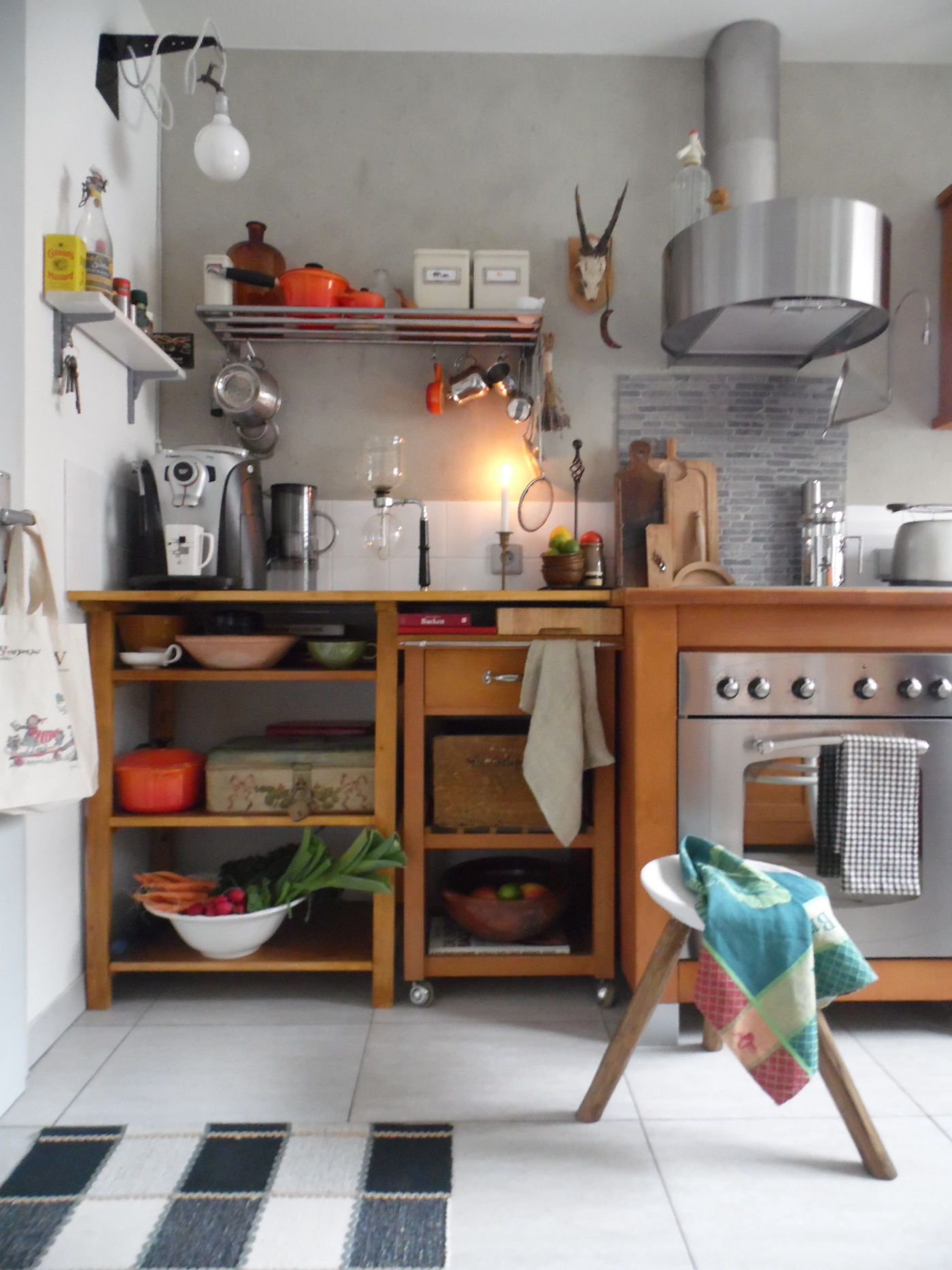 landhausk chen bilder ideen. Black Bedroom Furniture Sets. Home Design Ideas
