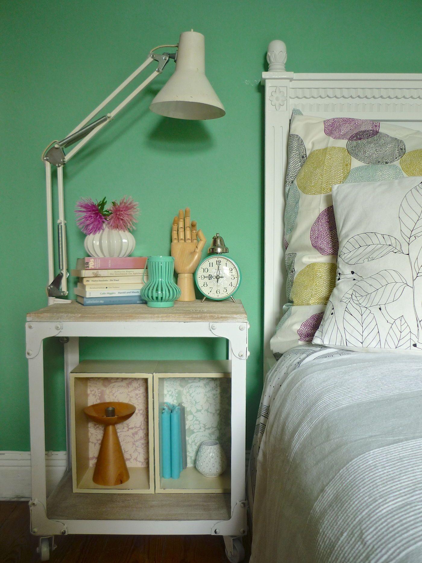 Schlafzimmer. Minze U0026 Salbei