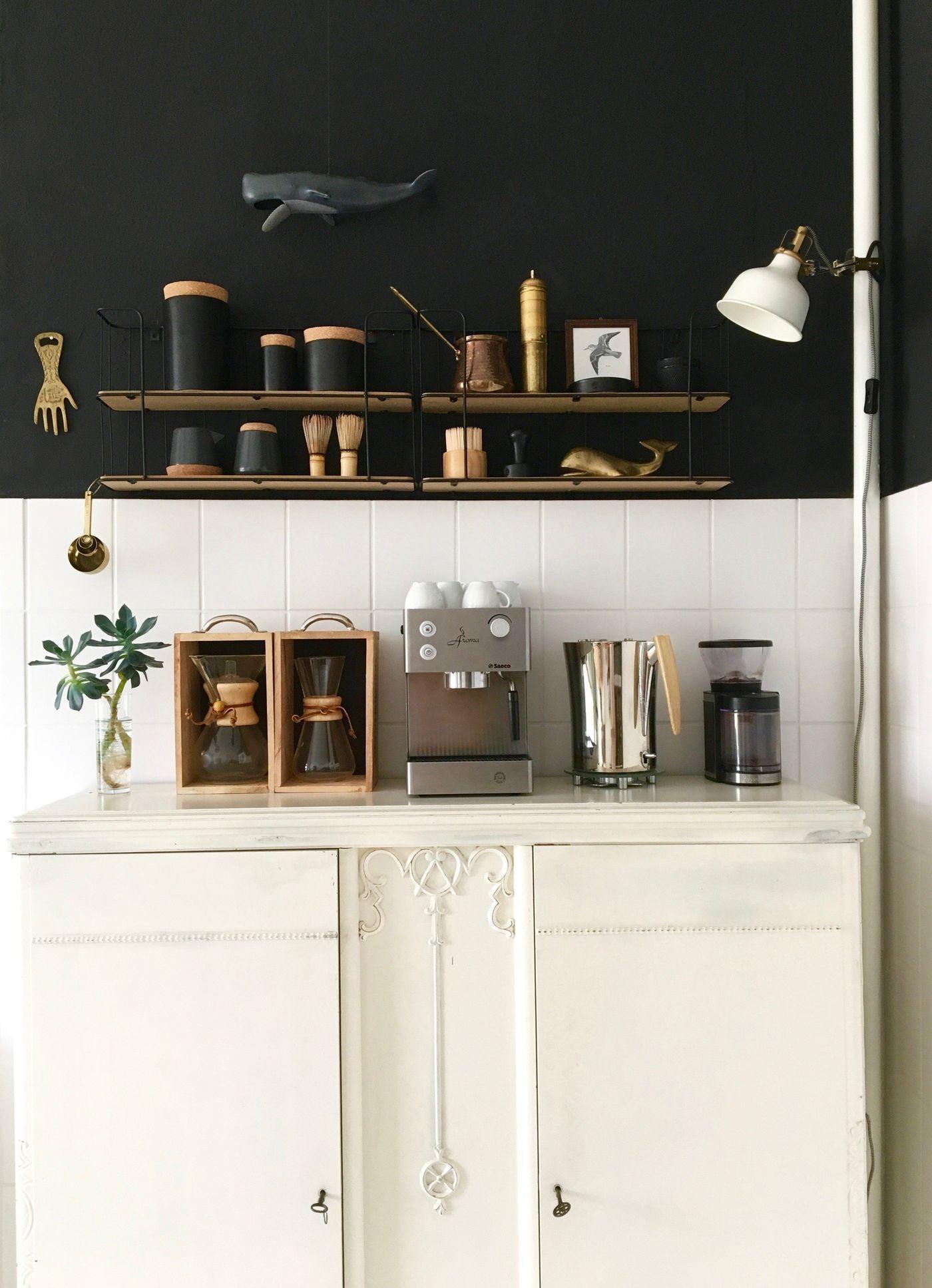 vintage k chen einrichten und dekorieren. Black Bedroom Furniture Sets. Home Design Ideas