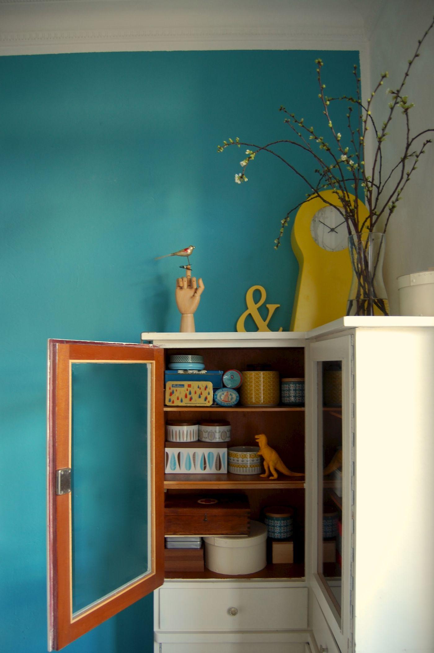 Die Schönsten Ideen Mit Der Wandfarbe Türkis