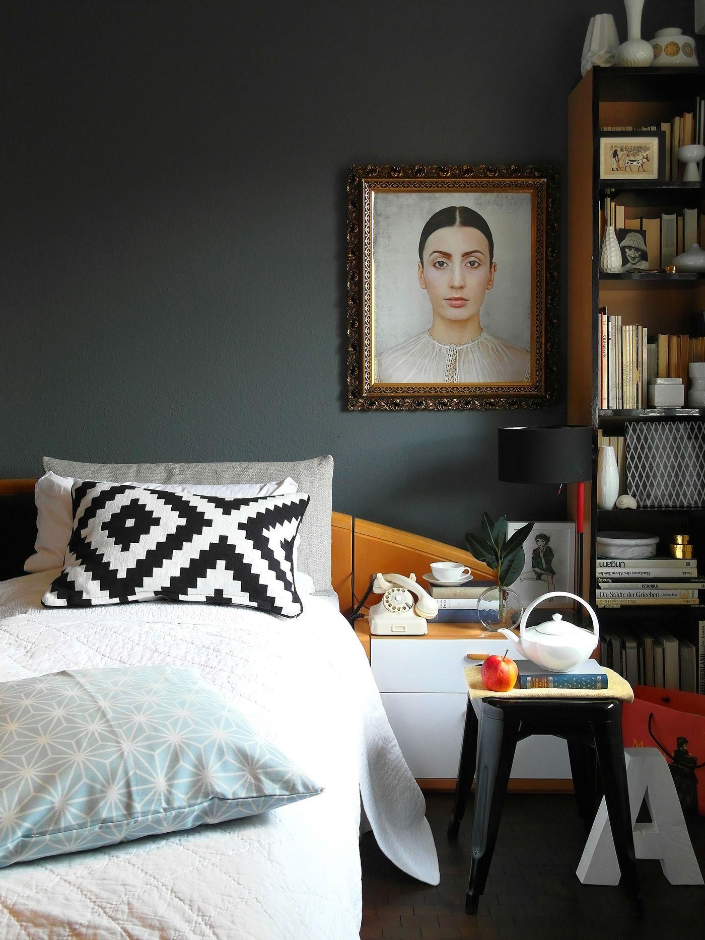 Wandfarbe Schwarz - die besten Ideen für dunkle Wände