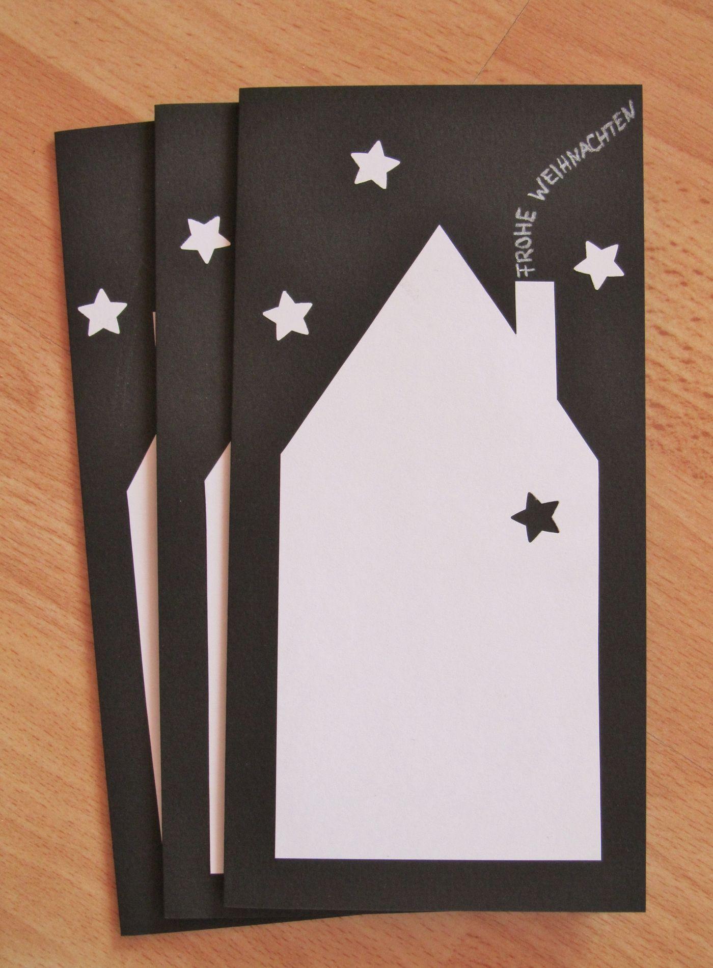 Weihnachtskarten basteln: Ideen & Bilder