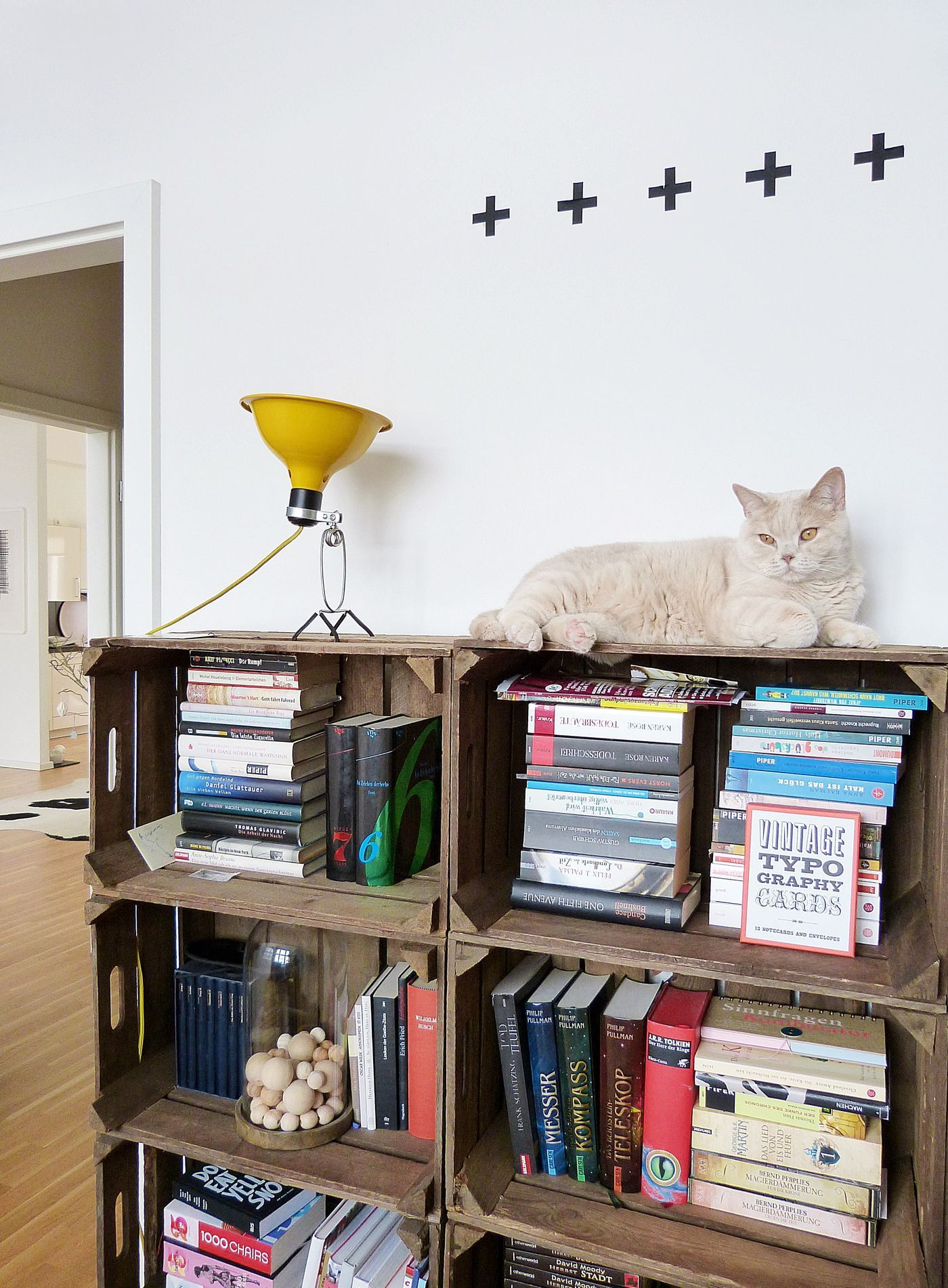 Wohnideen Obstkisten möbel aus obstkisten als upcycling idee