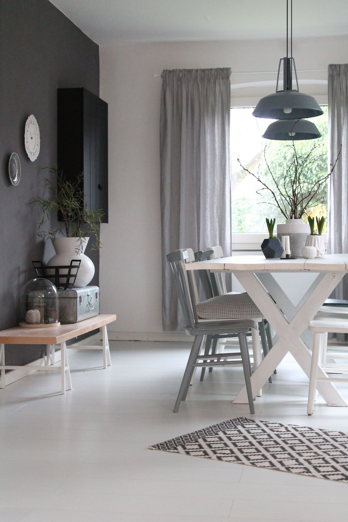 das landhaus esszimmer. Black Bedroom Furniture Sets. Home Design Ideas