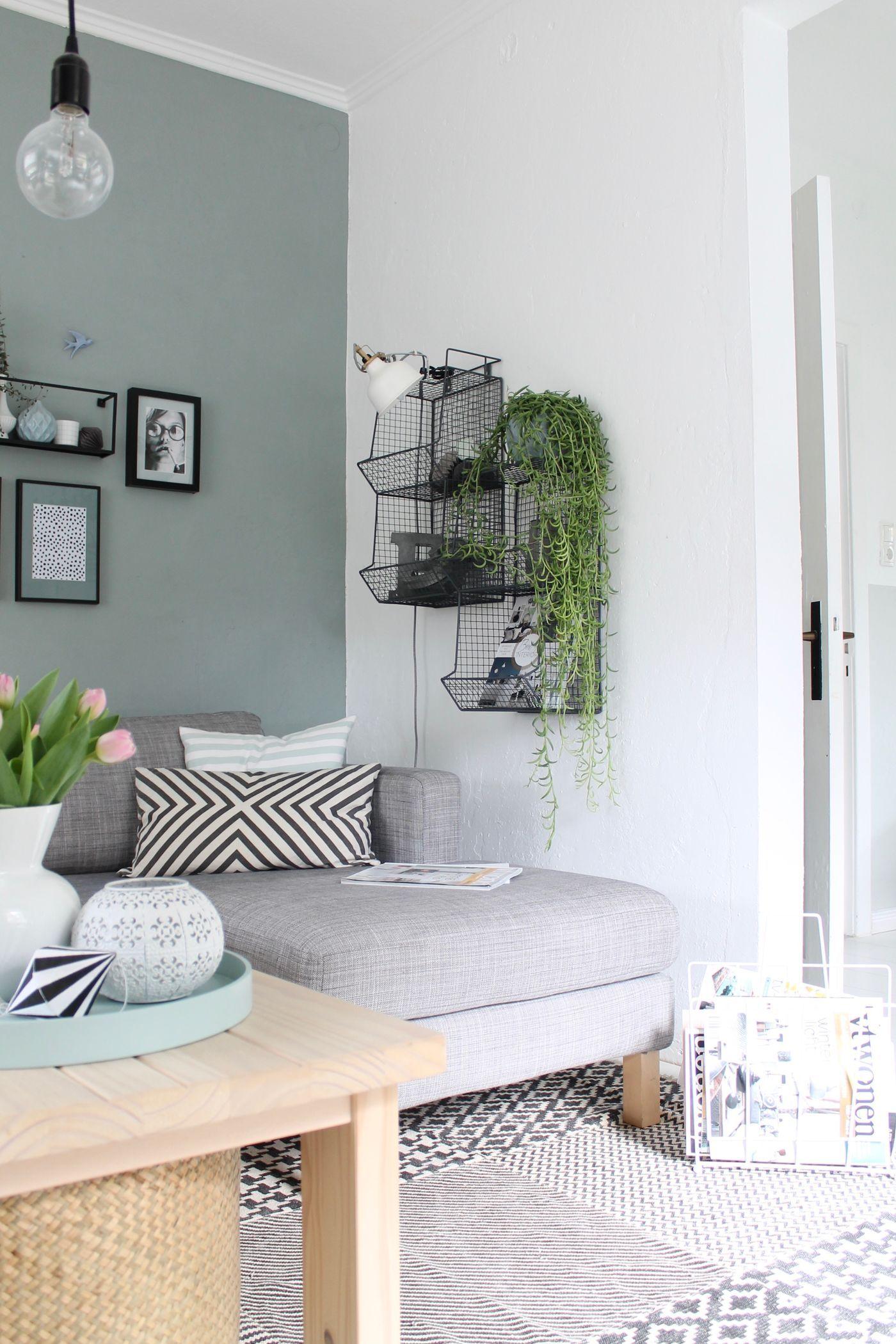 Wandfarbe gr n die besten ideen und tipps zum streichen seite 3 - Wandfarbe tipps ...