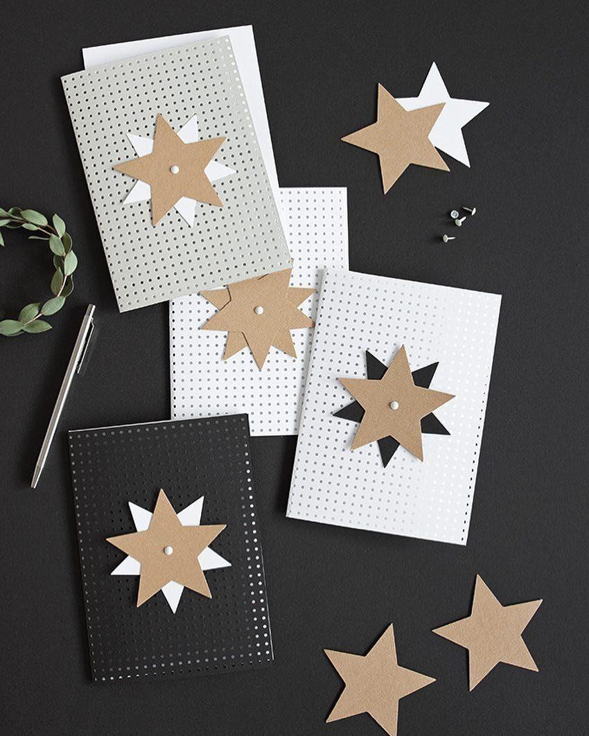 sch ne weihnachtskarten basteln selber machen. Black Bedroom Furniture Sets. Home Design Ideas